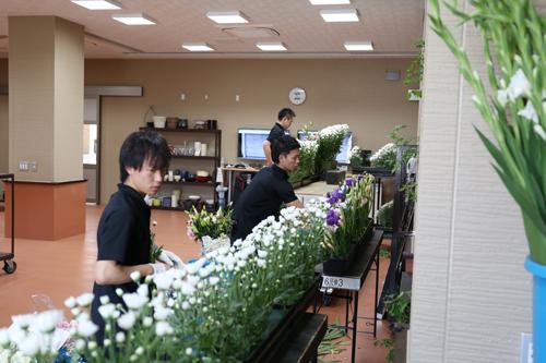 営業一部制作一課 花祭壇チーム